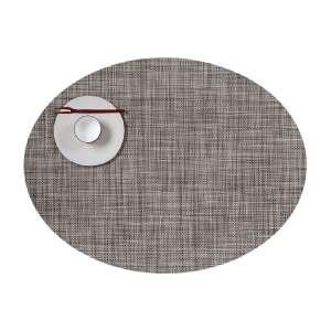 Tischset 36x49 cm oval Gravel
