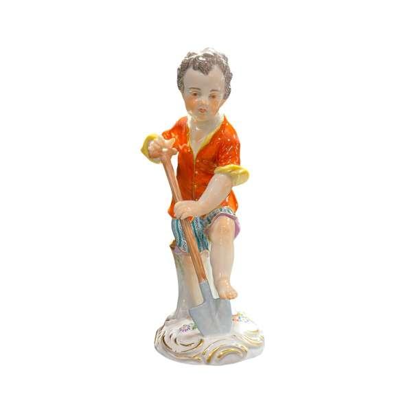 Gärtnerkind mit Spaten 15 cm