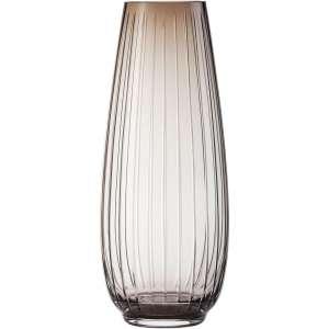 Vase 41 cm rauchbraun