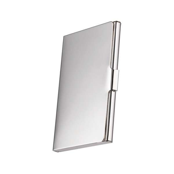 Business Card Holder Silver Plated