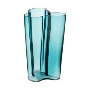 Vase 25,1 cm seeblau