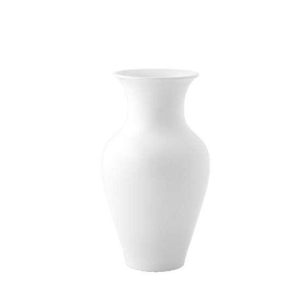 Chinesische Vase klein 27 cm weiß