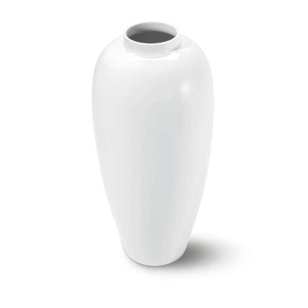 Bodenvase 67 cm ATRIUM weiß