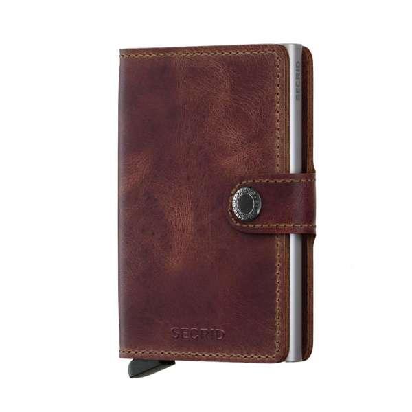 Miniwallet Vintage brown