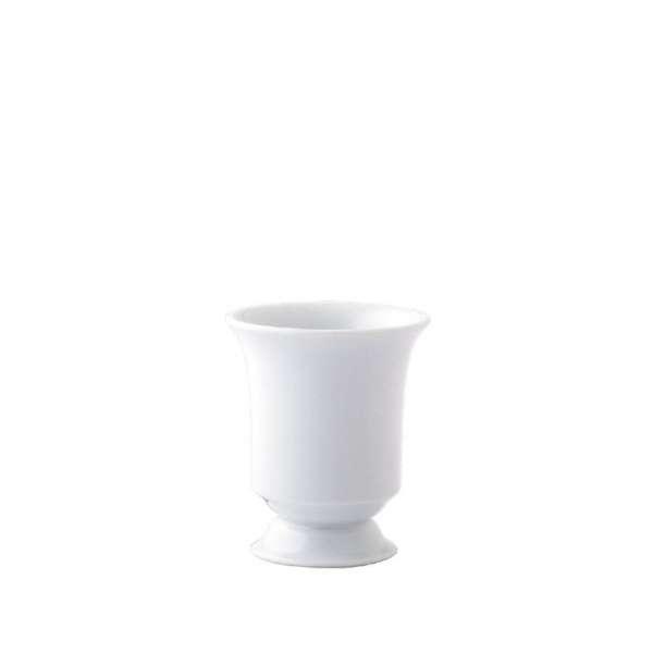 Vase Becherform auf Fuß 9,5 cm