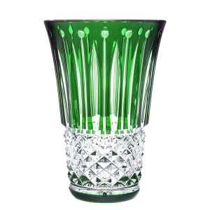 Vase 28 cm grün