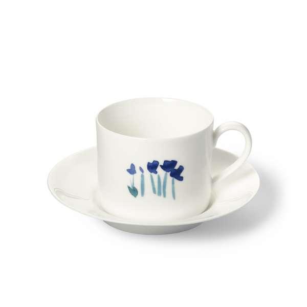 Kaffeetasse m. U. zyl. 0,25 l blau