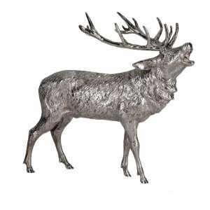 Hirsch röhrend 20 cm Sterlingsilber