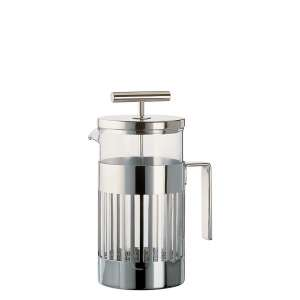 Kaffeemaschine Pressfilter 8 T./0,72 l Edelstahl/Glas