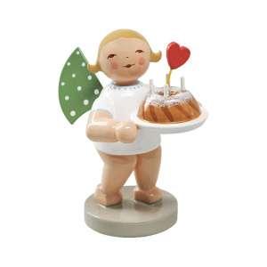 Engel m. Kuchen und Herz