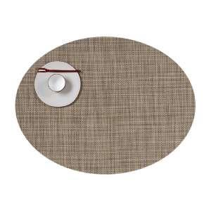 Tischset oval 36x49 cm linen