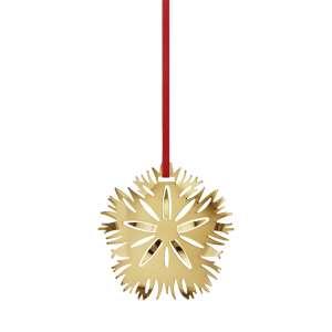 Weihnachtsschmuck 2020 Eisnelke - Goldauflage