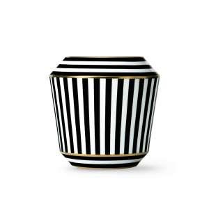 Vase schwarz/gold 21,5 cm