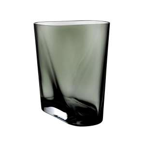 Vase 20 cm smoke