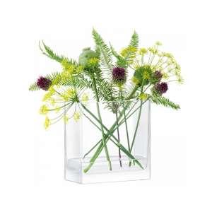 Vase 20x20x10 cm klar