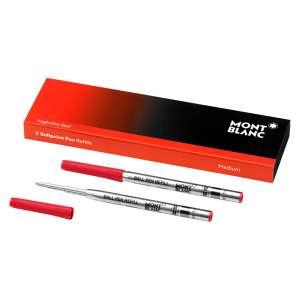 Kugelschreiberminen M (2 Stk.) Nightfire red