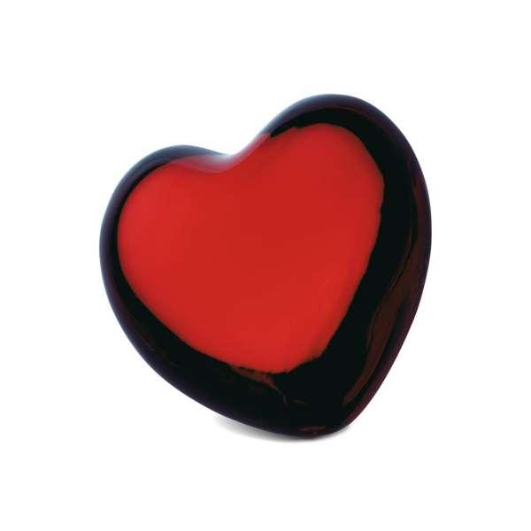 Herz 7,5 cm rot
