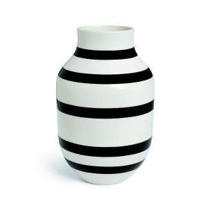 Vase 30,5 cm schwarz (11679)