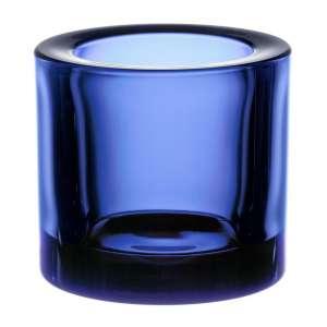 Windlicht 6 cm ultramarine blau