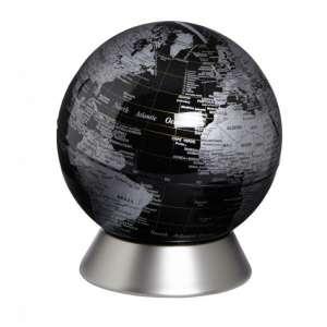 Globus Spardose schwarz