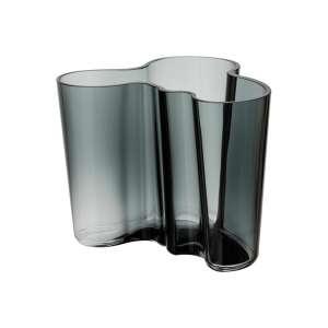 Vase 12 cm dunkelgrau