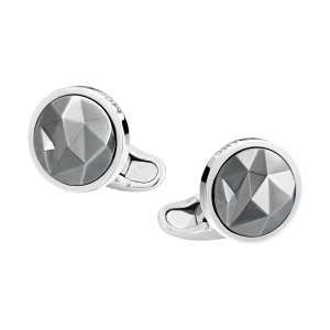 Manschettenknöpfe Sartorial Silber ruthenium