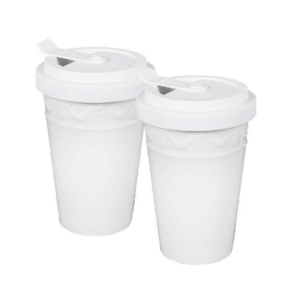 To-Go Becher 0,35 l White Duo