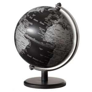 Mini-Globus matt schwarz