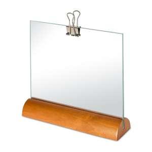 Bilderrahmen 21x17 cm Birkenholz/Glas
