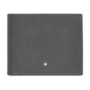 Brieftasche 8 cc Sartorial, dunkelgrau