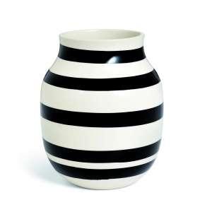 Vase 20 cm schwarz (11962)