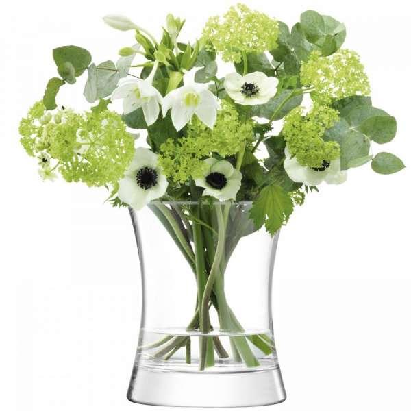 Vase 22 cm klar