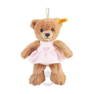 Spieluhr Bär Schlaf Gut 20 cm rosa