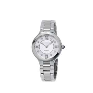 Armbanduhr Delight 8 Diamanten zus. 0,01 ct Edelstahl Automatik