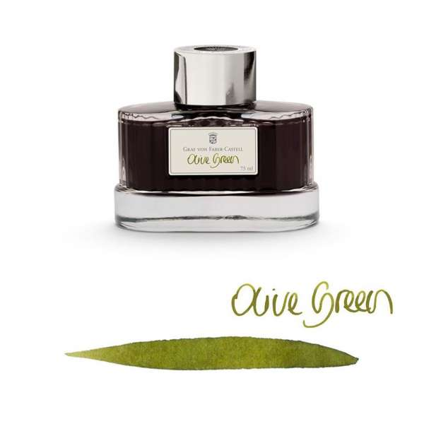 Tintenglas 75 ml Olive Green
