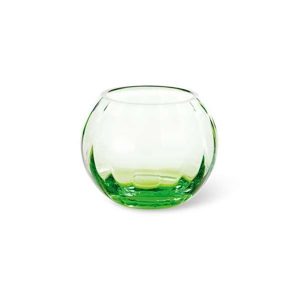 Teelicht 10,5 cm grün