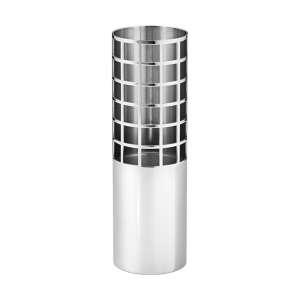 Vase Tube 15,4 cm Edelstahl