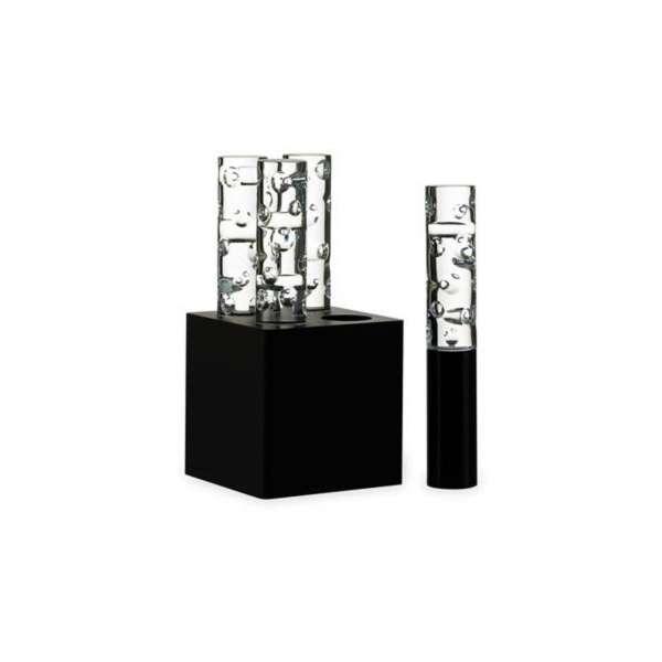 Tischlampe 32x16 cm Luftblase schwarz CEI