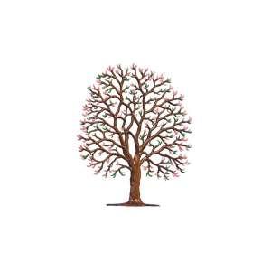Kastanie im Frühling 12x10 cm