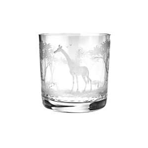 Whiskybecher Giraffe 99 mm, klar