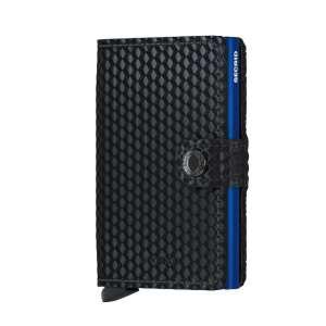 Miniwallet Cubic black/blue