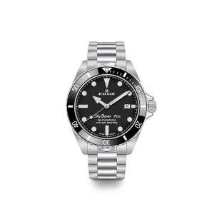 Armbanduhr Skydiver Automatik schwarzes Zifferblatt 42mm