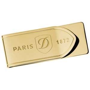 Geldscheinklammer PVD gold