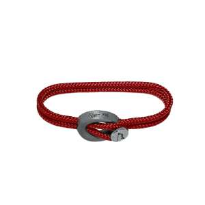 Armband Coral Red Humanium Metal L