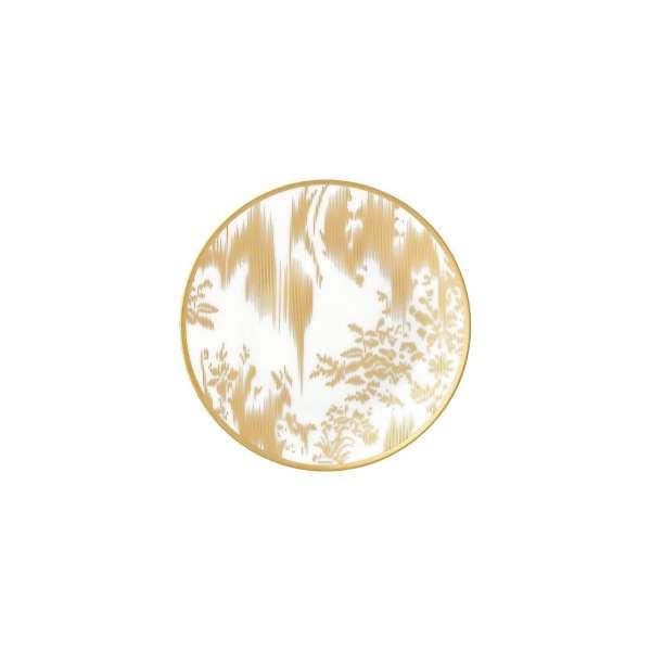 Brotteller 14 cm gold