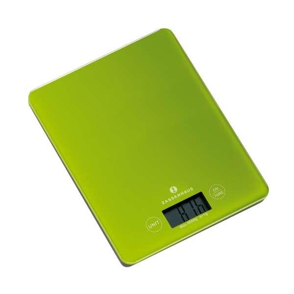 Digital-Waage grün