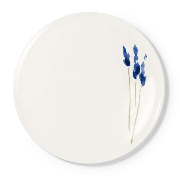Tortenplatte 32 cm blau