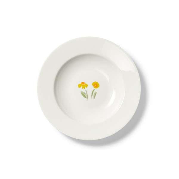 Suppenteller 23 cm gelb