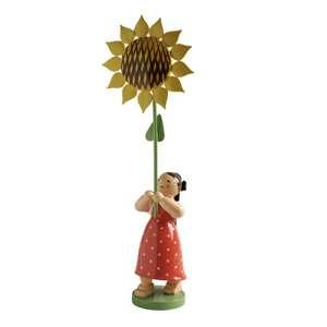Mädchen m. Sonnenblume