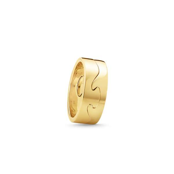 Ring End Gelbgold 750 W56
